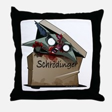 Schrödingers Cat Solution Throw Pillow