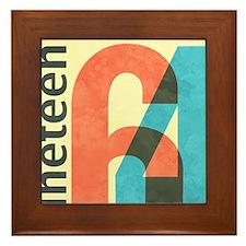 Nineteen 64 Framed Tile