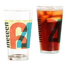 Nineteen 64 Drinking Glass