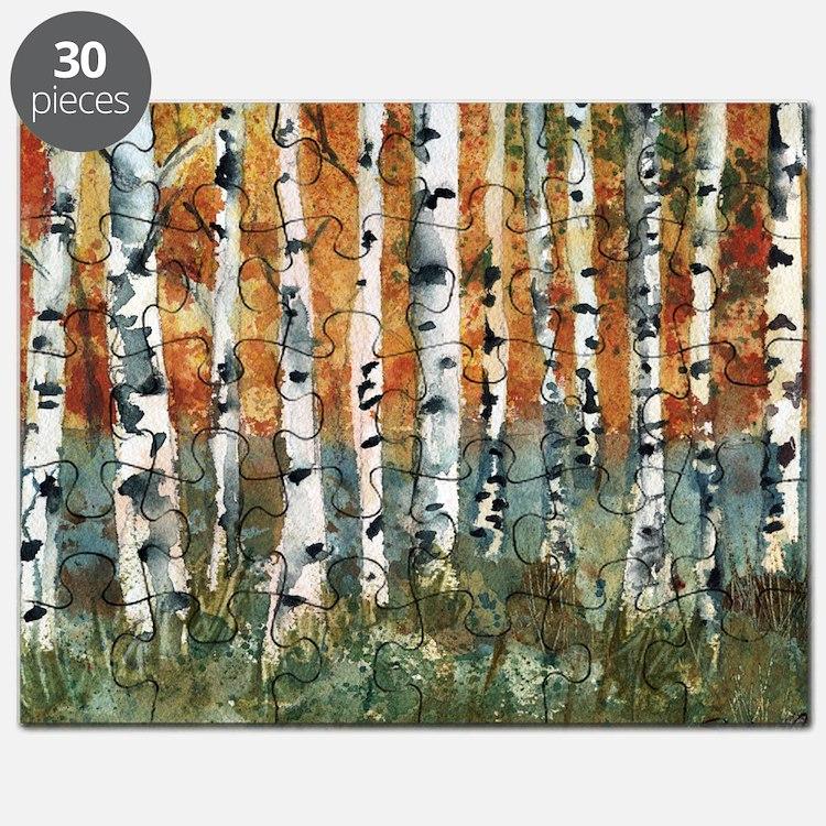 Birch Trees Puzzle