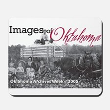 Oklahoma Cotton Harvest, 1908 Mousepad