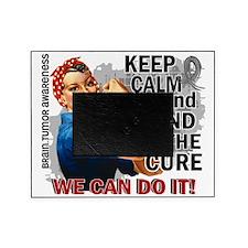 D Rosie Keep Calm Brain Tumor Picture Frame
