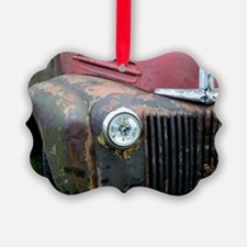 Rusty car Ornament