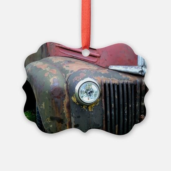 Rusty car Ornament