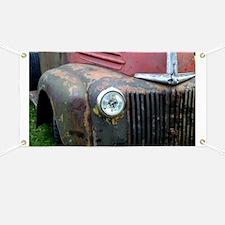 Rusty car Banner