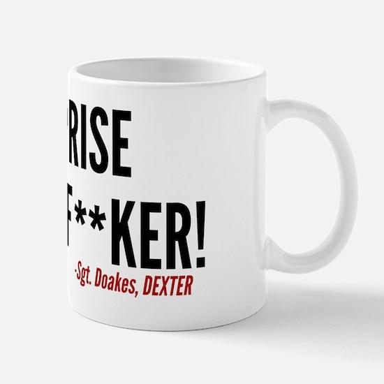 Dexter Doakes Surprise Mug