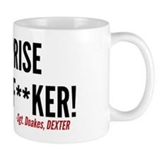 Dexter Doakes Surprise Small Mugs