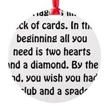 Marriage Cards Ornament
