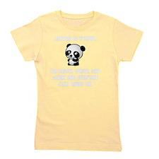 Panda Race Girl's Tee