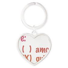 Te amo or Tequila Heart Keychain