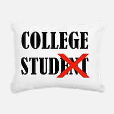 College Stud Rectangular Canvas Pillow