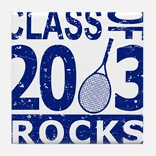 Class Of 2013 Rocks Tile Coaster