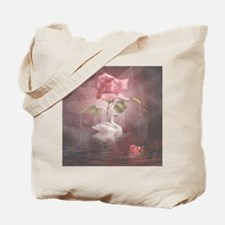 4SSwan Rose Tote Bag