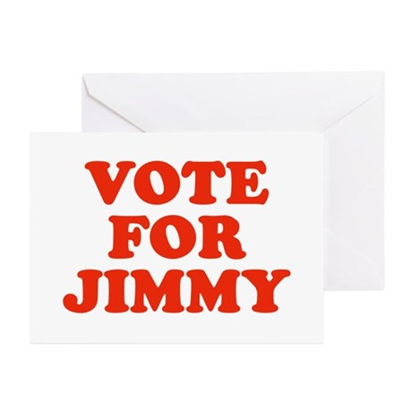 Vote for Jimmy Greeting Cards (Pk of 10)