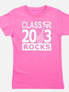 Class Of 2013 Rocks Girl's Tee