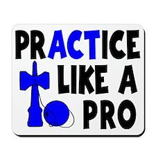 blue, Practice Like a Pro Mousepad