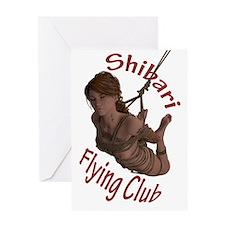 Shibari Flying Club Greeting Card