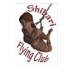 Shibari Flying Club Postcards (Package of 8)