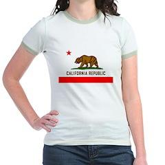California Women's Ringer T-Shirt