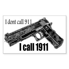 call 1911 Decal