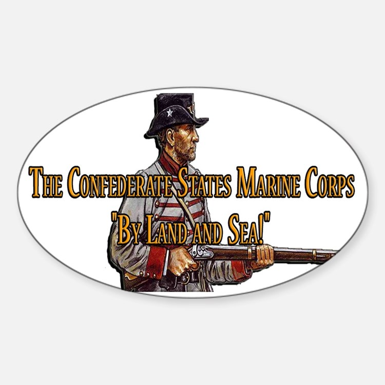 The Confederate States Marine Corps Decal