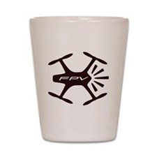 FPV Quad Pilots Shot Glass