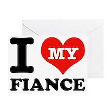 Fiance designs Greeting Card