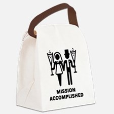 Mission Accomplished (Wedding / M Canvas Lunch Bag