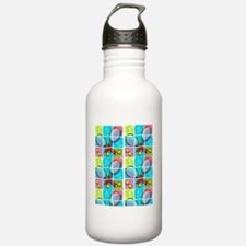 TENNIS PLAYER Sports Water Bottle