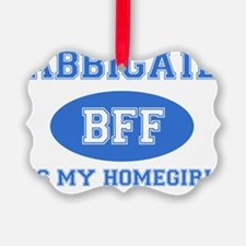 Abbigail name designs Ornament
