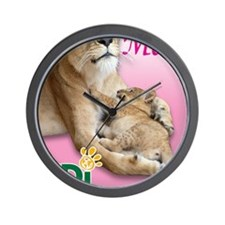 US Mothers Day Kiara Wall Clock