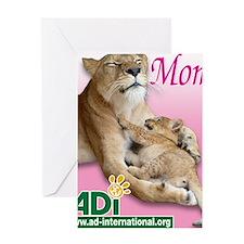 US Mothers Day Kiara Greeting Card