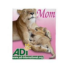 US Mothers Day Kiara Throw Blanket