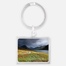 Wastwater storm clouds Landscape Keychain
