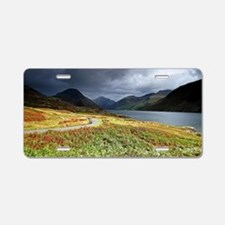 Wastwater storm clouds Aluminum License Plate