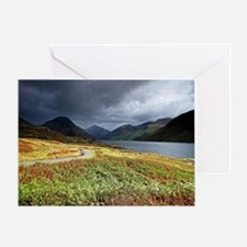 Wastwater storm clouds Greeting Card