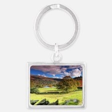 Rydal View Landscape Keychain