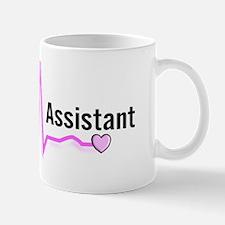 medical assistant 3 pink darks Mug