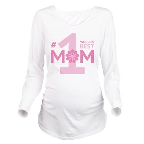 bestMomEver3B Long Sleeve Maternity T-Shirt