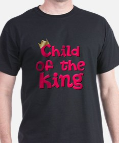 Child of the King with Crown - Jesus  T-Shirt