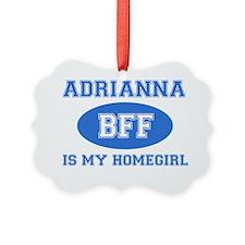 Adrianna name designs Ornament
