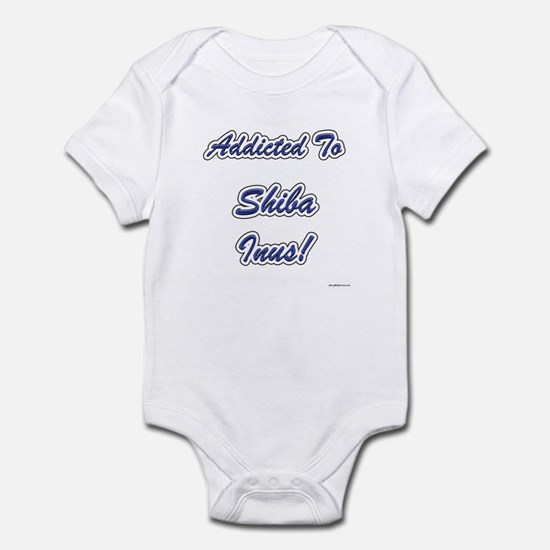 Shiba Inu Addicted Infant Bodysuit