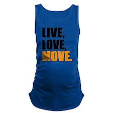live love move Maternity Tank Top