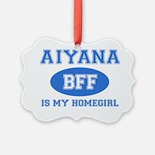 Aiyana name designs Ornament