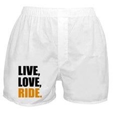 live love ride Boxer Shorts