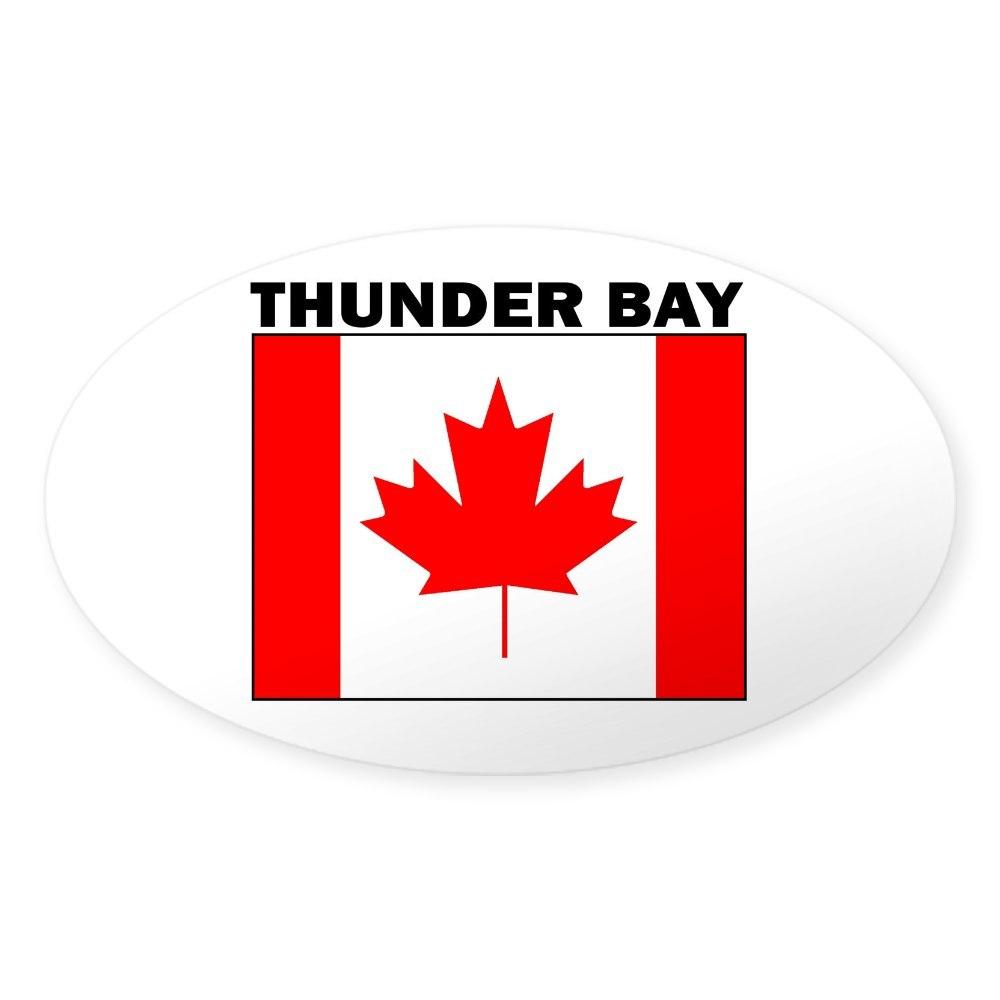 117879722 Oval Ontario Oval Sticker Sticker CafePress Thunder Bay