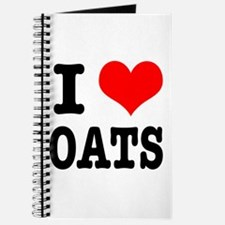 I Heart (Love) Oats Journal