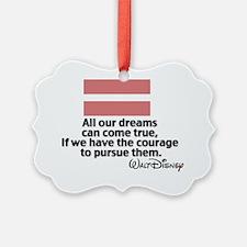 Marriage Equality Walt Disney Quo Ornament