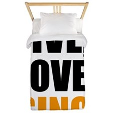 live love sing Twin Duvet