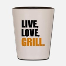 grill Shot Glass